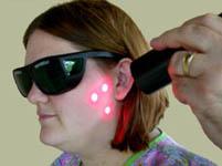 laser on TMJ pain