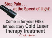 free cold laser treatment, Wellness22.com, West Hills, CA